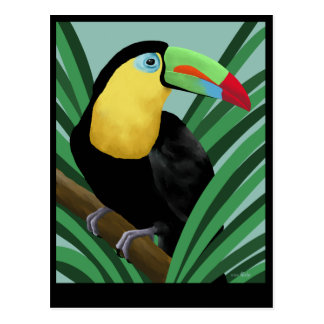 Toucan Art Postcards