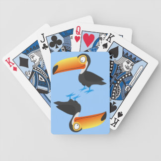 Toucan Bicycle Playing Cards