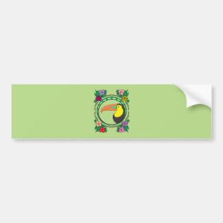 Toucan Bird Bumper Sticker