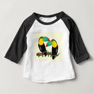 Toucan bird love art baby T-Shirt