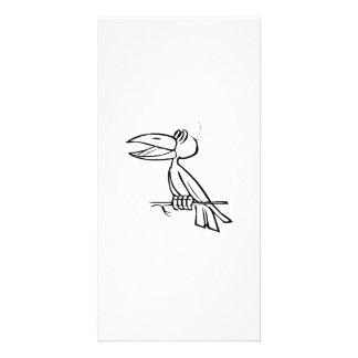 Toucan Bird on Tree Branch Customized Photo Card