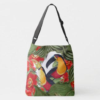 Toucan Birds Wildlife Animals Flowers Tote Bag