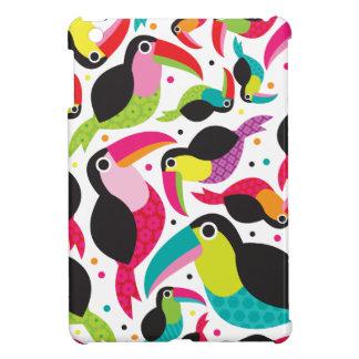 Toucan brazil retro kids pattern iPad mini covers