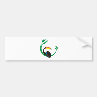 Toucan Bumper Sticker