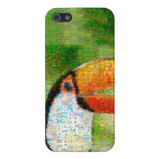 Toucan collage-toucan  art - collage art iPhone 5/5S case