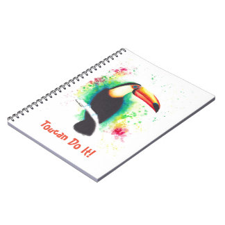 Toucan Do It! Notepad Spiral Notebook