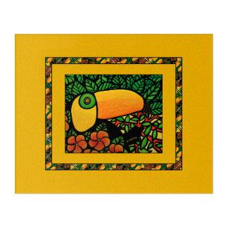 Toucan Exotic Colorful Tropical Bird Acrylic Print