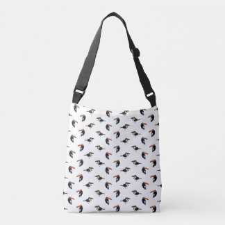 Toucan Frenzy All Over Print Bag (Choose Colour)