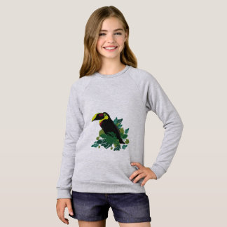 Toucan illustration sweatshirt