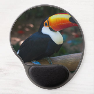 Toucan in environment in the Park of the Birds Gel Mouse Pad