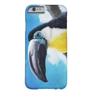 Toucan in Misty Air tropical bird painting Barely There iPhone 6 Case