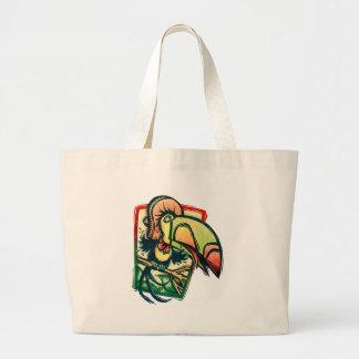 Toucan Large Tote Bag