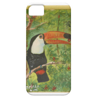 Toucan Oil on screen iPhone 5 Case