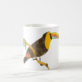 Toucan on a Branch Mug