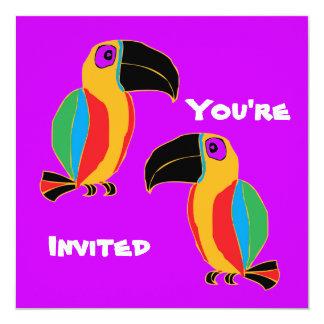 Toucan Party Card