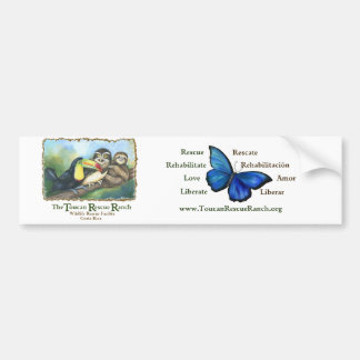 Toucan Rescue Ranch Bumper Sticker