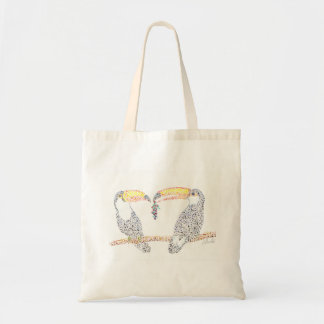 Toucan Share Tote Bag