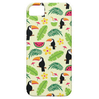 Toucan Tropical Summer Pattern Case For The iPhone 5