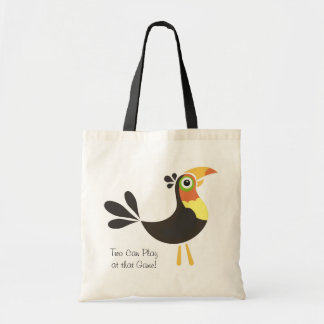 Toucan, Two Can Play at that Game! Budget Tote Bag