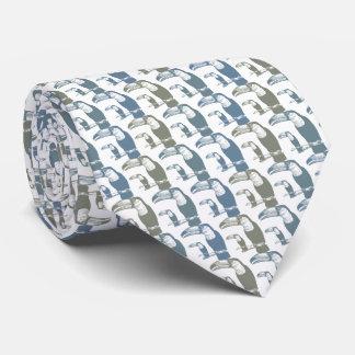Toucans Tie Armani Gray