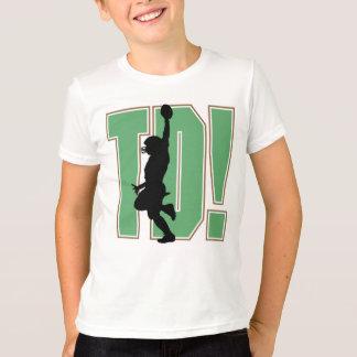 Touch Down Football Kids T-shirt