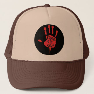 Touch, Feel, Smell Trucker Hat