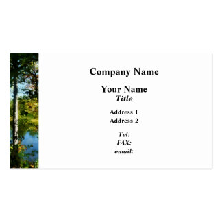 Touch of Autumn Business Cards