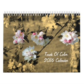 Touch Of Colour 2016 Nature Calendars