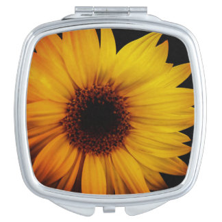 Touch of Sun Sunflower Compact Mirror