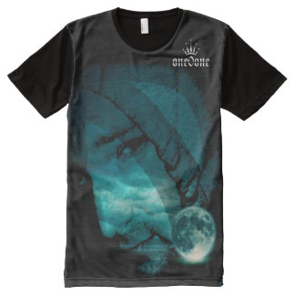 Touch the Moon 101 All-Over Print T-Shirt