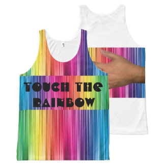 Touch the Rainbow All-Over Print Singlet