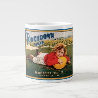 Touchdown Brand Vintage Crate Label Jumbo Mug