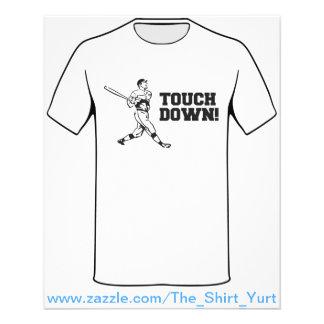 Touchdown Homerun Baseball Football Sports 11.5 Cm X 14 Cm Flyer