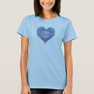 Touched by Autism Flame- Blue T-Shirt