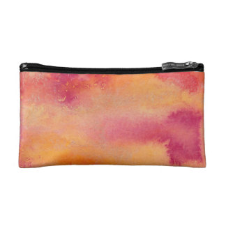 Touched by Fire Watercolour Cosmetic Bag