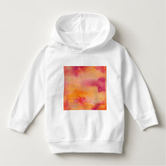 Touched by Fire Watercolour Hoodie