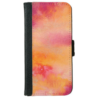 Touched by Fire Watercolour iPhone 6 Wallet Case