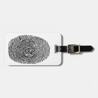 Touched by God Luggage Tag