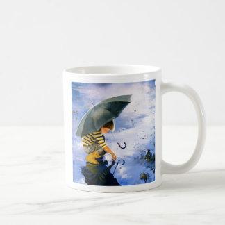 Touching The Sky Classic White Coffee Mug