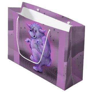 TOUFFIN ALIEN CARTOON  Gift Bag - Large