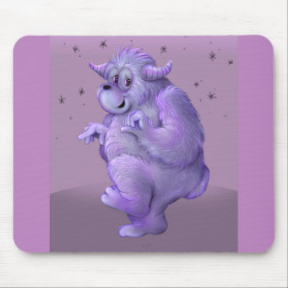 TOUFFIN ALIEN MONSTER CARTOON MOUSE PAD