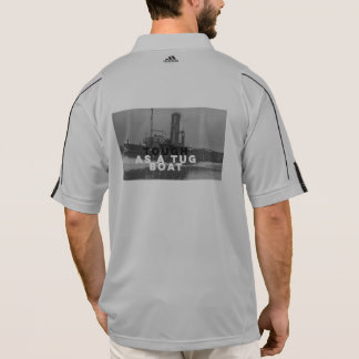 Tough As A Tug Boat Addidas Trainer Shirt Bedrock