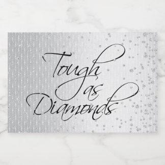 TOUGH AS DIAMONDS FOOD LABEL