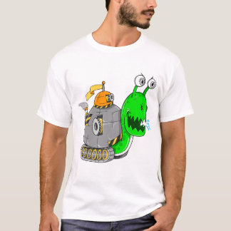 Tough Battle Snail Tank T-Shirt