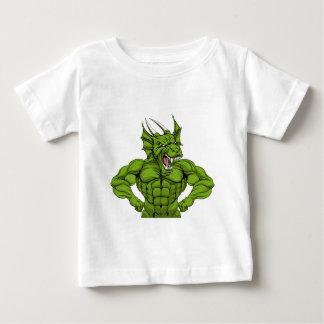 Tough Dragon Mascot Baby T-Shirt