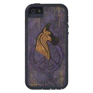 Tough Extreme I-Phone 5 Case W/Brindle Dane