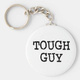 Tough Guy Basic Round Button Key Ring