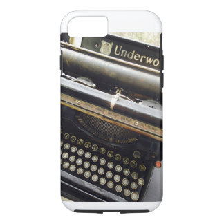 tough iphone case vintage typewriter