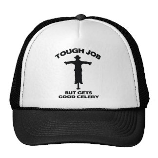 Tough Job But Gets Good Celery Trucker Hats