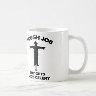 Tough Job But Gets Good Celery Coffee Mug